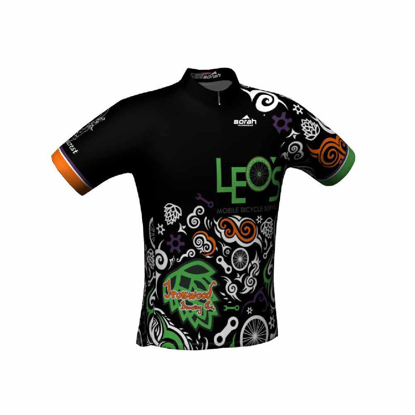 Leo's Bicycling Shirt