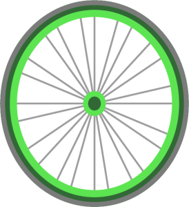 Bicycle Wheel Graphic